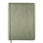 Ежедневник недатированный Buromax Metallic А6 с обложкой из искусственной кожи 288 с. Золотистый (BM.2613-23)