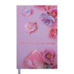 Ежедневник недатированный Buromax Spoleto А6 288 с. Розовый (BM.2607-10)