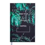 Ежедневник недатированный Buromax Magic А6 288 с. Зеленый (BM.2610-04)