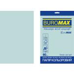 Бумага цветная Buromax Euromax А4, 80г/м2, PASTEL, голубой, 20л. (BM.2721220E-14)