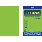 Бумага цветная Buromax Euromax А4, 80г/м2, INTENSIVE, зеленый, 20л. (BM.2721320E-04)