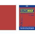 Бумага цветная Buromax Euromax А4, 80г/м2, INTENSIVE, красный, 20л. (BM.2721320E-05)