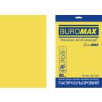 Бумага цветная Buromax Euromax А4, 80г/м2, INTENSIVE, желтый, 20л. (BM.2721320E-08)