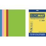 Набор цветной бумаги Buromax Euromax А4, 80г/м2, INTENSIVE, 5цв., 20л. (BM.2721320E-99)