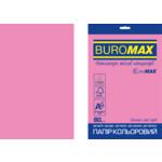 Бумага цветная Buromax Euromax А4, 80г/м2, NEON, розовый, 20л. (BM.2721520E-10)