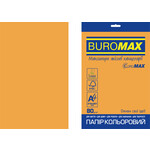Бумага цветная Buromax Euromax А4, 80г/м2, NEON, оранжевый, 20л. (BM.2721520E-11)