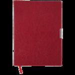 Еженедельник датированный 2021 Buromax Salerno A4 с обложкой из искусственной кожи 136 с. L2U Красный (BM.2781-05)