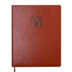 Еженедельник датированный 2021 Buromax Bravo (Soft) A4 из искусственной кожи 136 с. L2U Коньячный (BM.2780-41)
