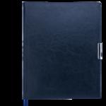Еженедельник датированный 2021 Buromax Salerno A4 с обложкой из искусственной кожи 136 с. L2U Синий (BM.2781-02)