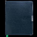 Еженедельник датированный 2021 Buromax Salerno A4 с обложкой из искусственной кожи 136 с. L2U Зеленый (BM.2781-04)