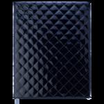 Еженедельник датированный 2021 Buromax Donna A4 с обложкой из искусственной кожи 136 с. Черный (BM.2782-01)