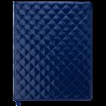 Еженедельник датированный 2021 Buromax Donna A4 из искусственной кожи 136 с. Синий (BM.2782-02)