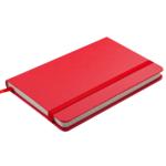 Деловой блокнот Buromax Strong Logo2U 80 листов 95 x 140 мм в клетку Красный (BM.29012101-05)