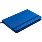 Деловой блокнот Buromax Ingot (95x140 мм) в клетку с обложкой из искусственной кожи 80 л. Синий (BM.29012103-02)