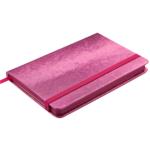 Деловой блокнот Buromax Ingot 80 листов 95 x 140 мм в клетку обложка из искуственной кожи Розовый (BM.29012103-10)