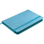 Деловой блокнот Buromax Ingot 80 листов 95 x 140 мм в клетку обложка из искуственной кожи Голубой (BM.29012103-14)