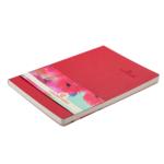 Деловой блокнот Buromax Color Tunes 96 листов А5 в клетку обложка из искуственной кожи Красный (BM.295100-05)