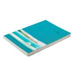 Деловой блокнот Buromax Color Tunes 96 листов А5 в клетку обложка из искуственной кожи Бирюзовый (BM.295100-06)