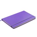 Деловой блокнот Buromax Strong Logo2U 80 листов 125 x 195 мм в клетку Фиолетовый (BM.29912101-07)