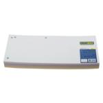 Индекс - разделитель Buromax, 10,5х23см, картон, 100 шт., ассорти (BM.3220-99)