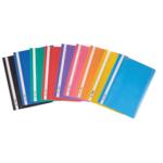 Папка-скоросшиватель Buromax А4 пластиковая 160/120 мкм ассорти (BM.3311-99)