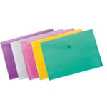 Папка-конверт А4 на кнопці, асорті (BM.3926-99)
