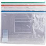Папка - конверт Buromax А5, пластиковая на молнии, ассорти (BM.3947-99)