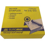 Скобы для степлера №23/23 Buromax Люкс, 1000 шт (BM.4408)