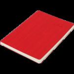 Блокнот деловой Buromax Color Tunes, А5, 96 стр., красный, линия (BM.295200-05)