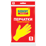 Перчатки Бонус универсальные резиновые S (bn.84800)