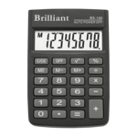 Калькулятор карманный 8-разрядный Brilliant BS-100 (BS-100)