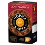 Кофе молотый Черная Карта Для заваривания в чашке, вак.уп. 230г*12 (PL) (ck.52355)