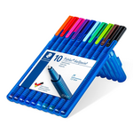 Набор шариковых ручек Triplus® multi set XB (10 шт/уп) (ST.437 XBSB10)