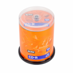 Диск CD-R MIX, 700 Mb, 52 х, 80 min, Cake (100), 100 шт
