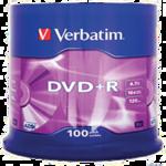 Диск DVD+R MIX, 4,7 Gb, 16 х, Cake (100)