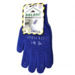 Перчатки трикотажные рабочие Doloni, 646, синие с точкой (d.20321)