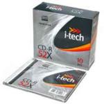 Диск CD-R MIX, 700 Mb, 52 х, Slim