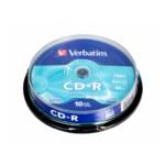 Диск CD-R MIX, 700 Mb, 52 х, 80 min, Cake (10)