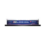 Диск DVD+R Verbatim, 8.5 Gb, 8 х, Double Layer, Cake (10)