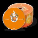 Диск DVD-R Videx 4,7 Gb 16x Bulk 50 pcs (VDVD-R b50)