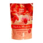 Крем-мыло Fresh Juice Peach&Magnolia, 460 мл, дой-пак (e.13259)