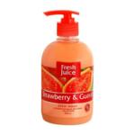 Крем-мыло Fresh Juice Strawberry&Guava, 460 мл (e.21070)