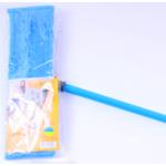 Швабра для влажной уборки Вироблено в Україні с насадкой из микрофибры Синяя (EF-MonoB)