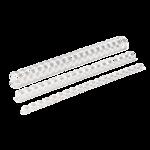 Пружины пластиковые Fellowes, 6 мм, белые, 100 шт (f.53450)