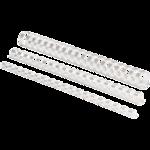 Пружины пластиковые Fellowes, 16 мм, белые, 100 шт (f.53470)