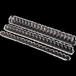 Пружины пластиковые Fellowes, 19 мм, черные, 100 шт (f.53477)