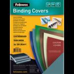 Обложки картонные Fellowes Delta, под кожу, зеленые, А4, 250 г/м2, 100 шт. (f.53715)