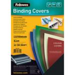Обложки картонные Fellowes Delta, под кожу, черные, А3, 250 г/м2, 100 шт. (f.53744)