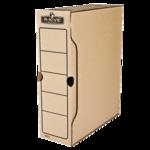 Бокс для архивации документов Fellowes R-Kive Basics, 100 мм, коричневый (f.91601)
