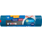 Пакеты для мусора Фрекен Бок с затяжкой 70 л/10 шт синие (fb.27886)